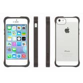 Griffin GB36413-2 Survivor Tough Crystal Clear Bumper Case|For iPhone 5|Black|