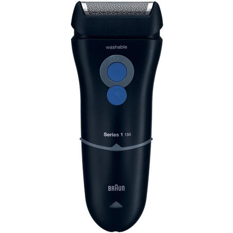 Braun Series 1 130s-1 Mens Electric Mains Trimmer/Shaver With SmartFoil | Washable Thumbnail 1