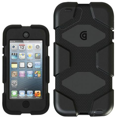 Griffin GB35694-3 Survivor Military-Duty Case-Belt Clip for iPod Touch 5G-Black Thumbnail 1