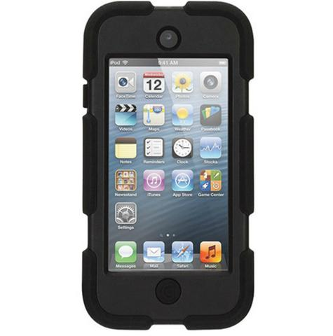Griffin GB35694-3 Survivor Military-Duty Case-Belt Clip for iPod Touch 5G-Black Thumbnail 3