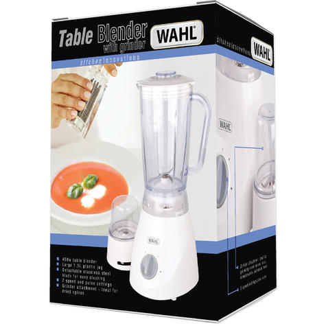 Wahl ZX805 Table Blender|Grinder|2 Speed|Pulse Setting|1.5 L Plastic Jug|450 W| Thumbnail 3