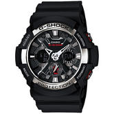 Casio GA-200-1AER Men Analouge Watch|World time|Shock-Magnetic Resistant|Resin band