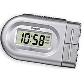 Casio DQ543-8 Bedside Digital Beep Alarm Clock|Snooze + Battery Included - Silver