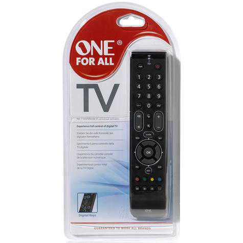 One For All Essence Universal Remote Control For TV | Easy Setup | Black | URC7110 | NEW Thumbnail 4