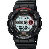 Casio GD-100-1AER Casio G-Shock Watch|Resin Case Band|World Time|200M WR|Black|