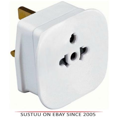 Value Range PIF2039 Universal Travel Adaptor|2 & 3 Pin|13 AMP|For Visitors to UK Thumbnail 1