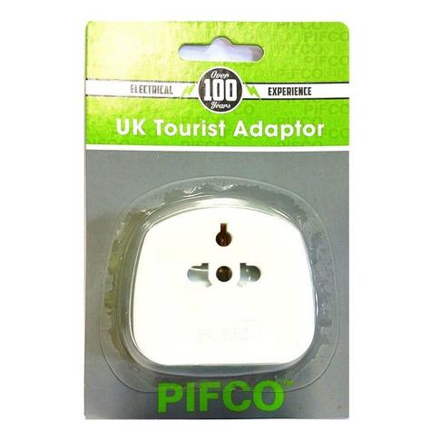 Value Range PIF2039 Universal Travel Adaptor|2 & 3 Pin|13 AMP|For Visitors to UK Thumbnail 3