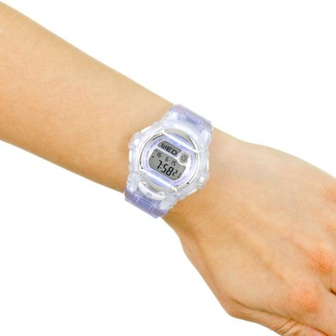 Casio Ladie's  BG169R-6ER Baby-G Watch / Alarm / Water Resist / Metalic Dial / Purple Thumbnail 4