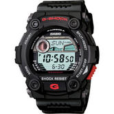 Casio G7900-1ER G-Shock Illuminator Watch|Tide-Graph Data|World time|200M|Black|