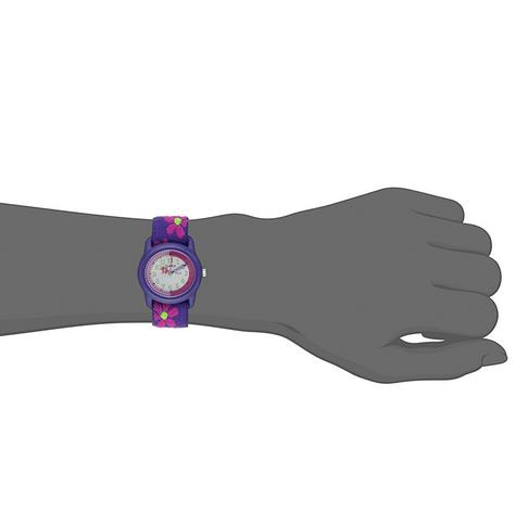 Timex Kidz T89022  Flowers Time Teacher Watch?Flower Strap?Analogue Display?NEW Thumbnail 2