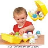 "Tomy Play to Learn - Hide ""n"" Squeak Eggs Kids Novelty?Child Play?E1581?"
