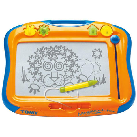 Tomy Art Doodle Pen Magnetic Drawing Board For 3+ Year Kids | Easy To Carry | E6555 |  Thumbnail 1