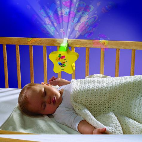Tomy Starlight Dreamshow Yellow Baby's Cot Musical Night-Light | Ceiling Projector | +0 Months Thumbnail 3