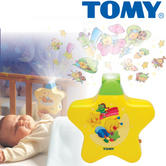 Tomy Starlight Dreamshow Yellow Baby's Cot Musical Night-Light | Ceiling Projector | +0 Months
