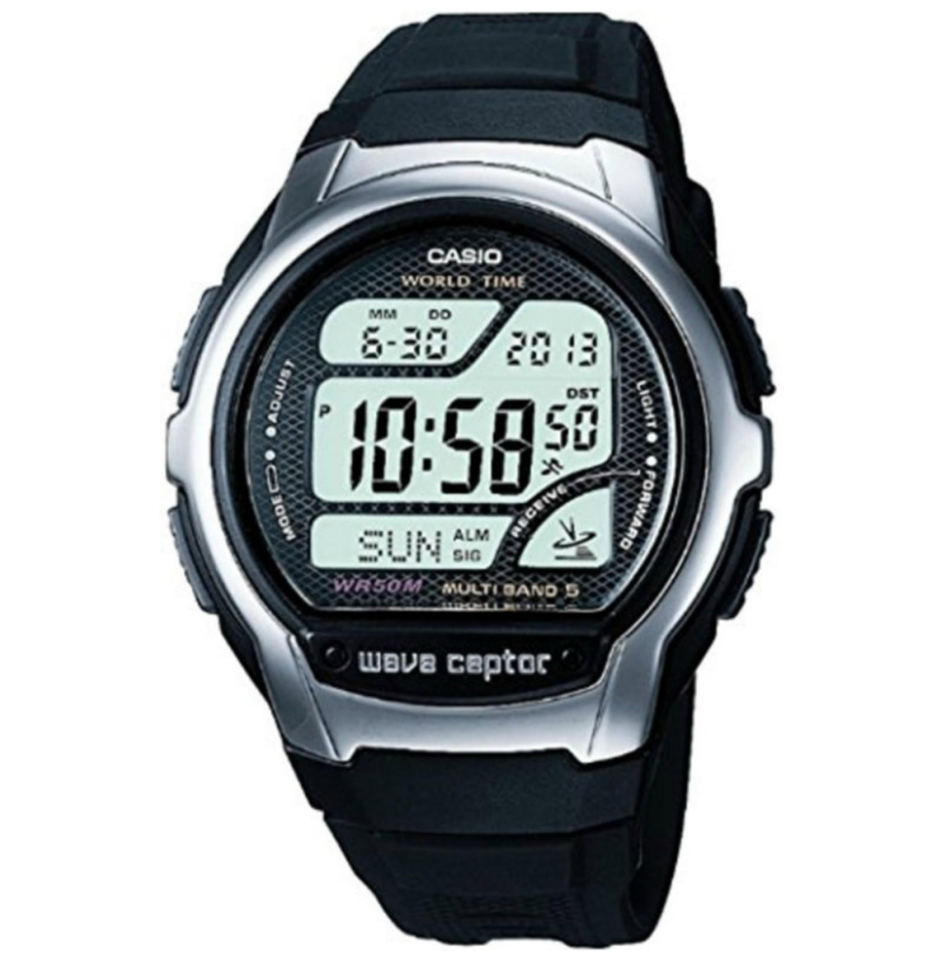 Casio WV58U-1AVEF Wave Ceptor Radio Controlled Watch|Digital|Dual Signal|WR|New
