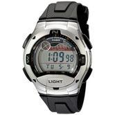 Casio W753-1AVES Digital Casual Watch|Tide Grap|Dual Time|Illuminator Light|100M|
