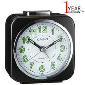 Casio Alarm Clock With Light And Snooze   Analog Luminous Hand   TQ-143S-1EF   Black