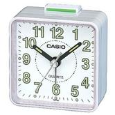 Casio TQ-140-7EF  Beep Travel Analog Alarm Clock|Bedside|Luminous Coating|White|New