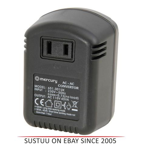 Skytronic SKY651001 USA to UK Voltage Convertor 45W Thumbnail 1