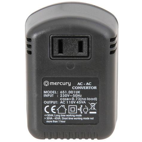 Skytronic SKY651001 USA to UK Voltage Convertor 45W Thumbnail 3