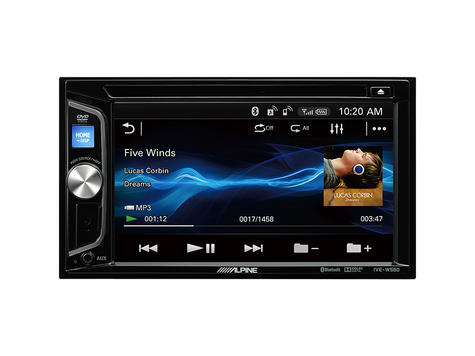 """Alpine 6.2"""" Double Din Stereo/Media?CD?DVD?USB?AUX