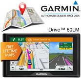Garmin Drive 60 LM 6'' GPS Sat Nav | Free Lifetime UK & Western Europe Map Updates