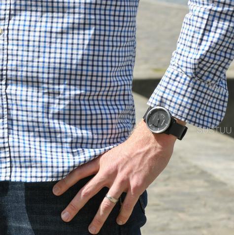 Garmin Vivomove|Analog Smart Unisex Watch|Activity Tracker|Sleep Monitor|Sports-Black Thumbnail 5