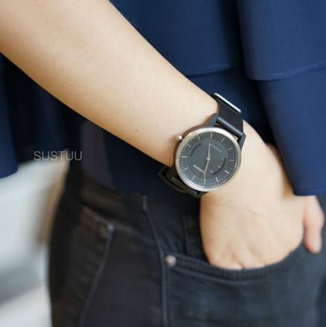 Garmin Vivomove|Analog Smart Unisex Watch|Activity Tracker|Sleep Monitor|Sports-Black Thumbnail 6