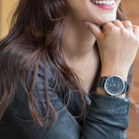 Garmin Vivomove|Analog Smart Unisex Watch|Activity Tracker|Sleep Monitor|Sports-Black Thumbnail 8