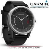 Garmin Vivomove|Analog Smart Unisex Watch|Activity Tracker|Sleep Monitor|Sports-Black