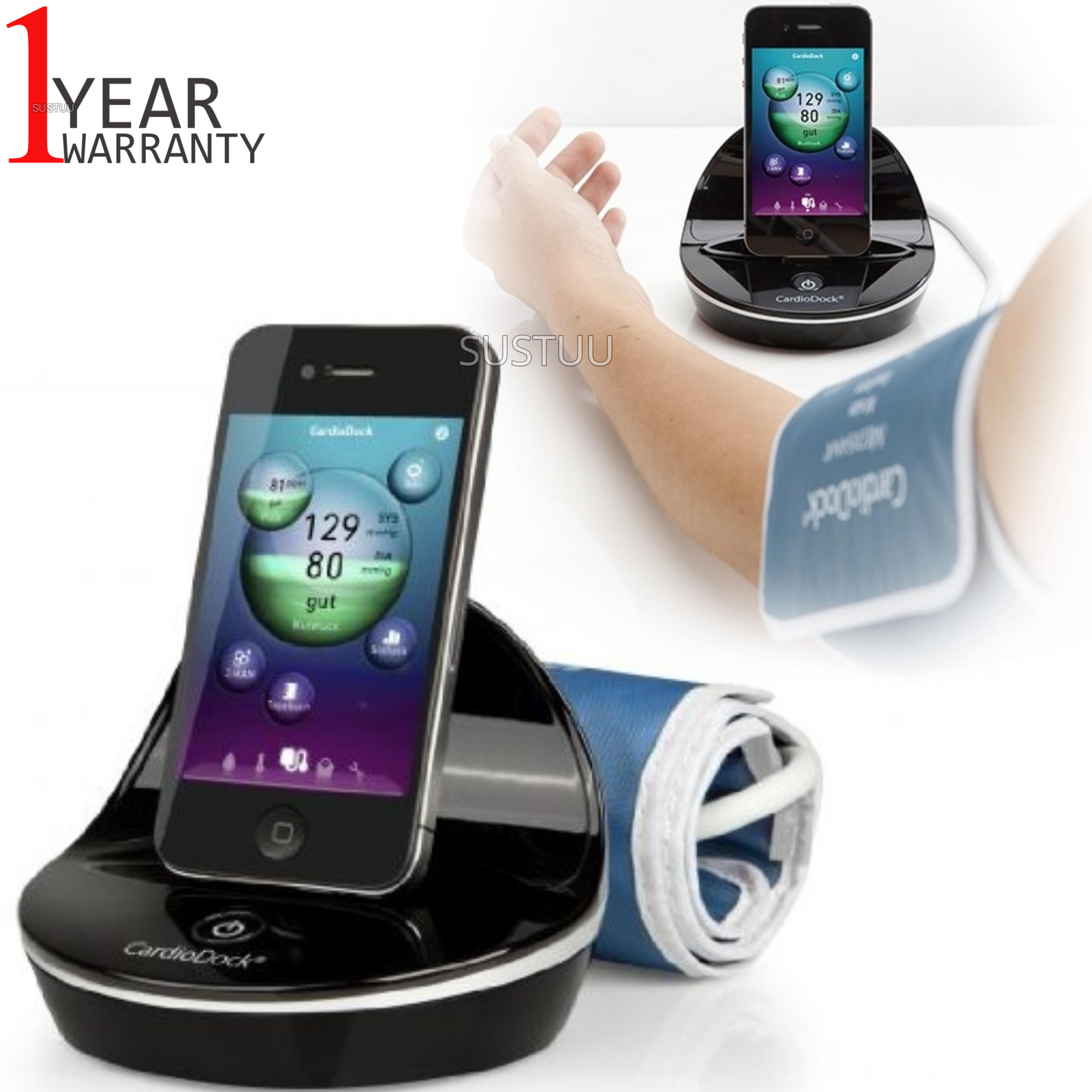 Medisana CardioDock Blood Pressure Module   Pulse Measurement   for iPod & iPhone