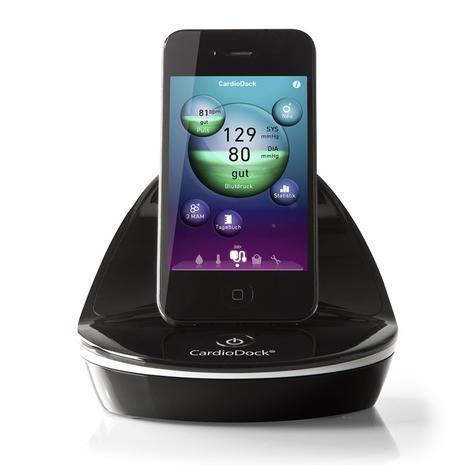 Medisana CardioDock Blood Pressure Module   Pulse Measurement   for iPod & iPhone Thumbnail 3