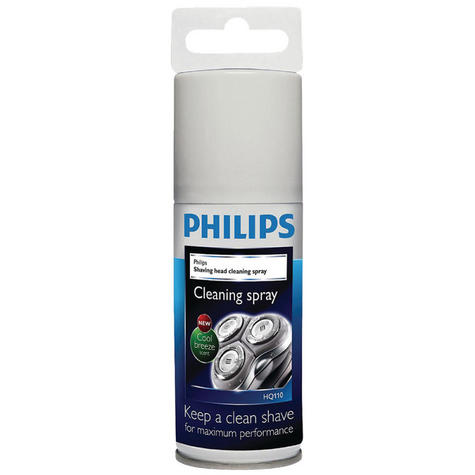 Philips Mens Electric Shavers Shaving Head Cleaning Lubrication Spray HQ110/02 Thumbnail 1