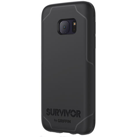Griffin GB42216 Ultra Thin Survivor Journey Case Cover For Galaxy S7- Black/Grey Thumbnail 4