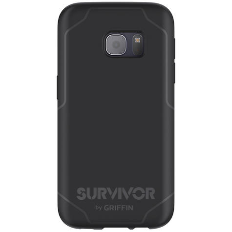 Griffin GB42216 Ultra Thin Survivor Journey Case Cover For Galaxy S7- Black/Grey Thumbnail 5