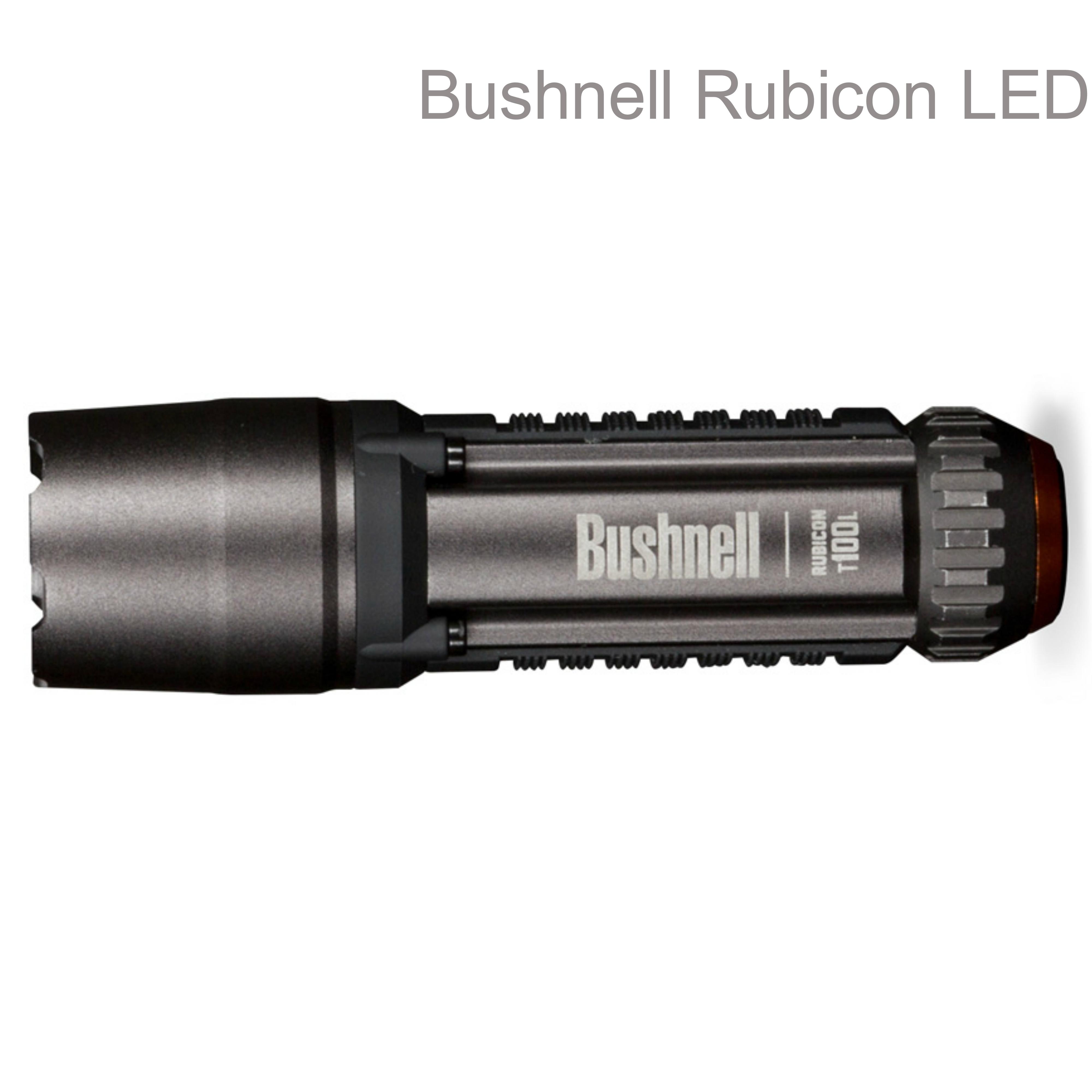 Bushnell Rubicon T100ML LED Flashlight|1AA - 152 Lumens|T.I.R.Optic|IPX-4