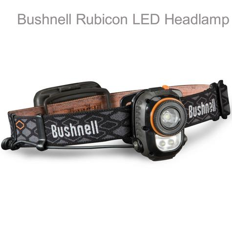 Bushnell-H150ML|Rubicon Safety LED Headlamp|3AA-173 Lumens|For Hiking & Outdoor Thumbnail 1