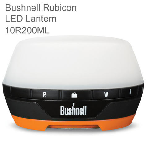 Bushnell Rubicon A200R LED Lantern | 200 Lumens -Rechargeable | 10R200ML | Use Outdoor Thumbnail 1