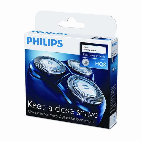 Philips HQ8/50 Dual Precision Replacement Shaving Heads - New Thumbnail 3