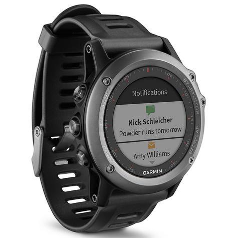 Garmin Fenix 3 Grey|Multisports GPS+GLONASS Smartwatch|Alti-Barometer-Compass Thumbnail 2