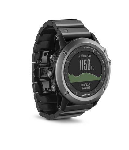Garmin Fenix 3 Grey|Multisports GPS+GLONASS Smartwatch|Alti-Barometer-Compass Thumbnail 3