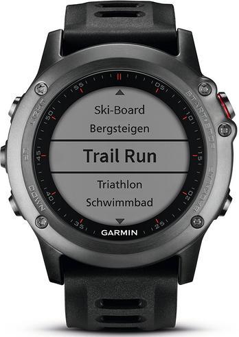 Garmin Fenix 3 Grey|Multisports GPS+GLONASS Smartwatch|Alti-Barometer-Compass Thumbnail 4