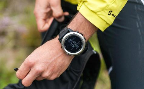 Garmin Fenix 3 Grey|Multisports GPS+GLONASS Smartwatch|Alti-Barometer-Compass Thumbnail 7