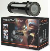 Mio MiVue M560 Waterproof Dash Cam | 1080P Video Recording | Motorcycle/Bike/Scooter