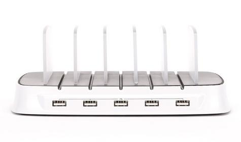 Griffin GA39677-2 PowerDock|5 x IOS Devices Charge Station-Storage|iPads/iPhon/ Thumbnail 3