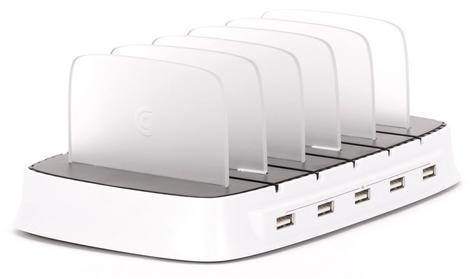 Griffin GA39677-2 PowerDock|5 x IOS Devices Charge Station-Storage|iPads/iPhon/ Thumbnail 4