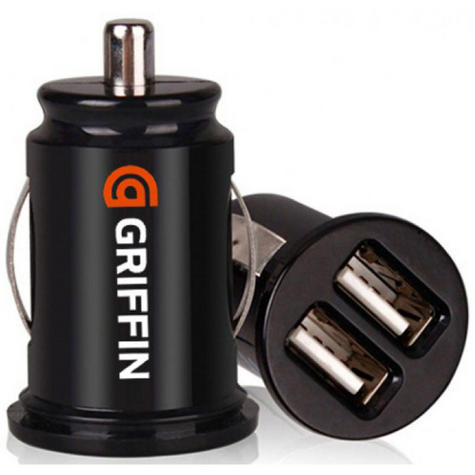 Griffin GC23089-2 PowerJolt Dual Micro Car Charger for Mobile Phone / USB Device Thumbnail 1