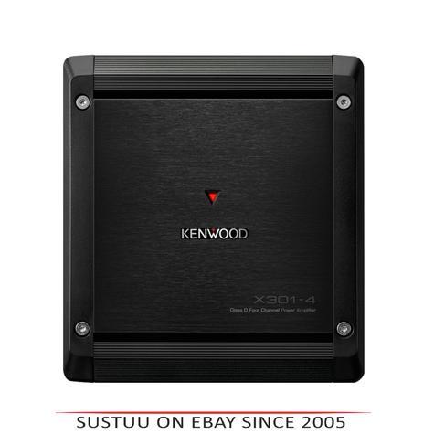 Kenwood X 301-4|4/3/2 Channel Power Amplifier|Class-D Mono|2 ohms|Stereo-Bridgeable Thumbnail 1