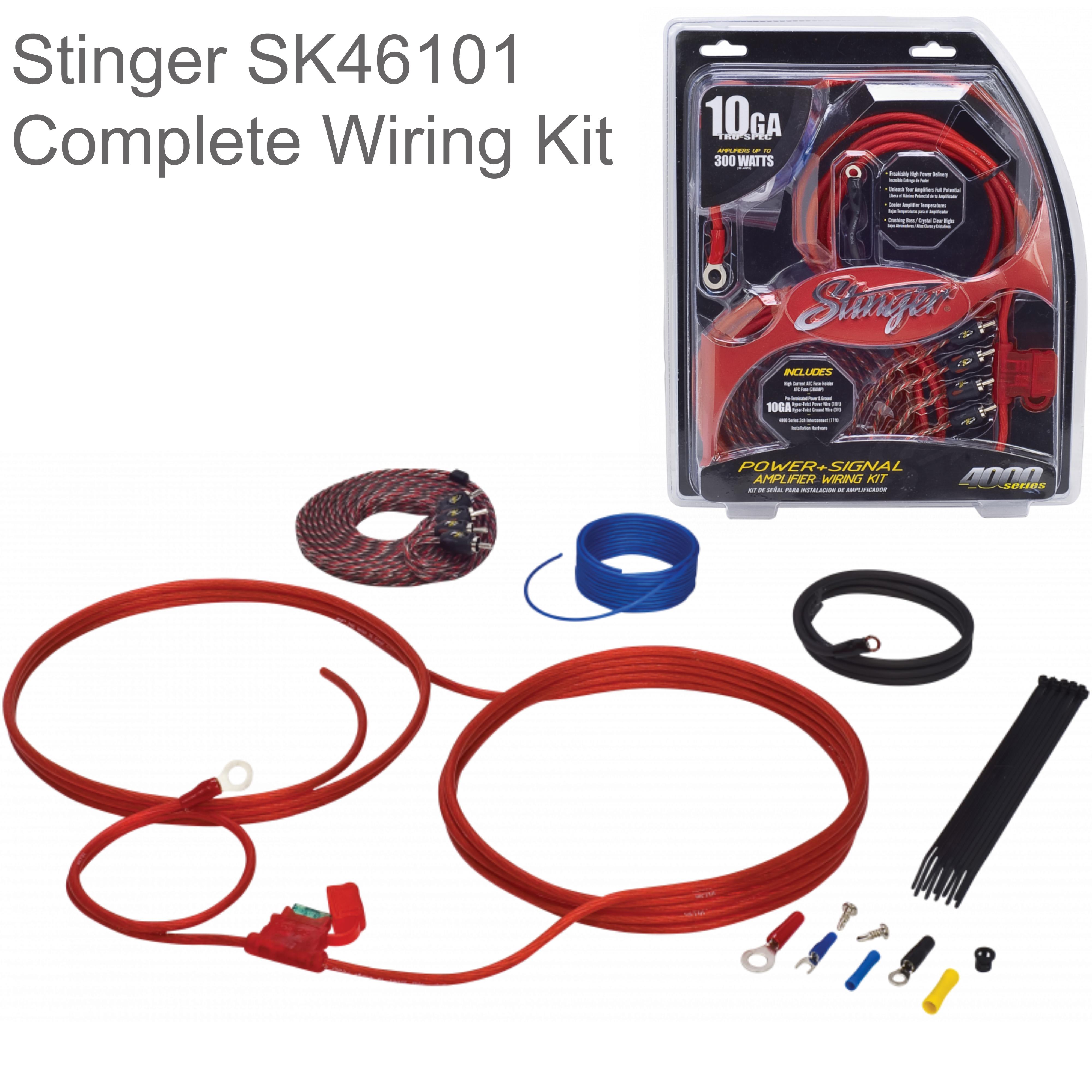 Stinger amplifier installation kits