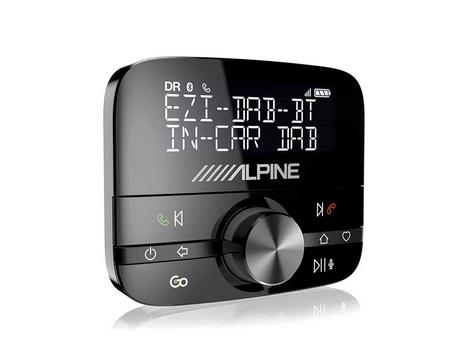 NEW Alpine EZI DAB BT | DAB+ Interface with Bluetooth | Hands-Free Car Digital Radio Thumbnail 2
